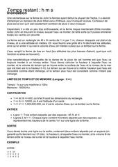 Fichier PDF inondation