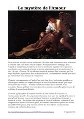 Fichier PDF le mystere de l amour