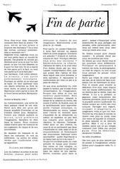 fin de partie n 1 pages 1 2