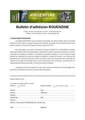 bulletin d adhesion 2013