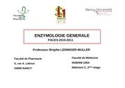 Fichier PDF enzymologie generale