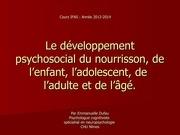 les differentes etapes de la vie et developpement