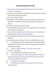 Fichier PDF regles familiales type