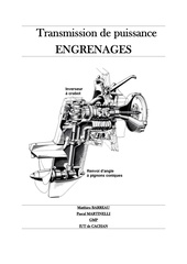 Fichier PDF engrenages