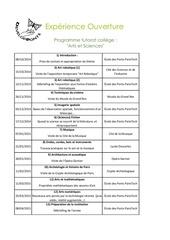planning tutorat college