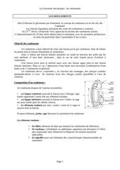 Fichier PDF roulements