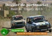 dossier de partenariat 4l trophy equipage 638