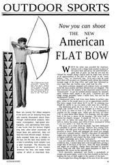 flatbow plans