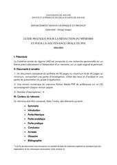 guide pratique pour la rEdaction du mEmoire 2014 2015