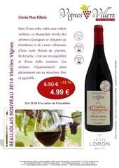 affiche beaujolais nvx vieille vignes