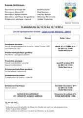 planning stv feminin du 06 10 2014 au 12 10 2014