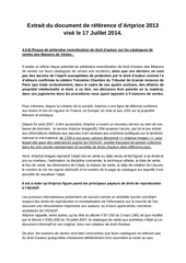 document de reference artprice droits d auteur