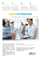 newsletter clients octobre 2014