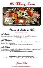 Fichier PDF plateau de fruits de mer
