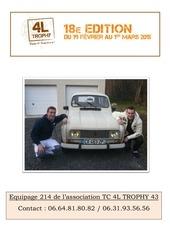 Fichier PDF 4l trophy