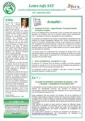 lettre info sst n 2 septembre 2014 2