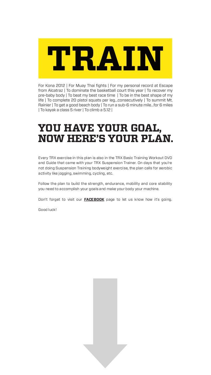 trx suspension training exercises pdf