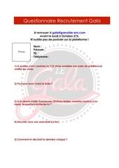 Fichier PDF questionnaire recrutement gala 1a
