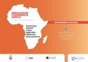conference resolution afrique dossier sponsoring veng