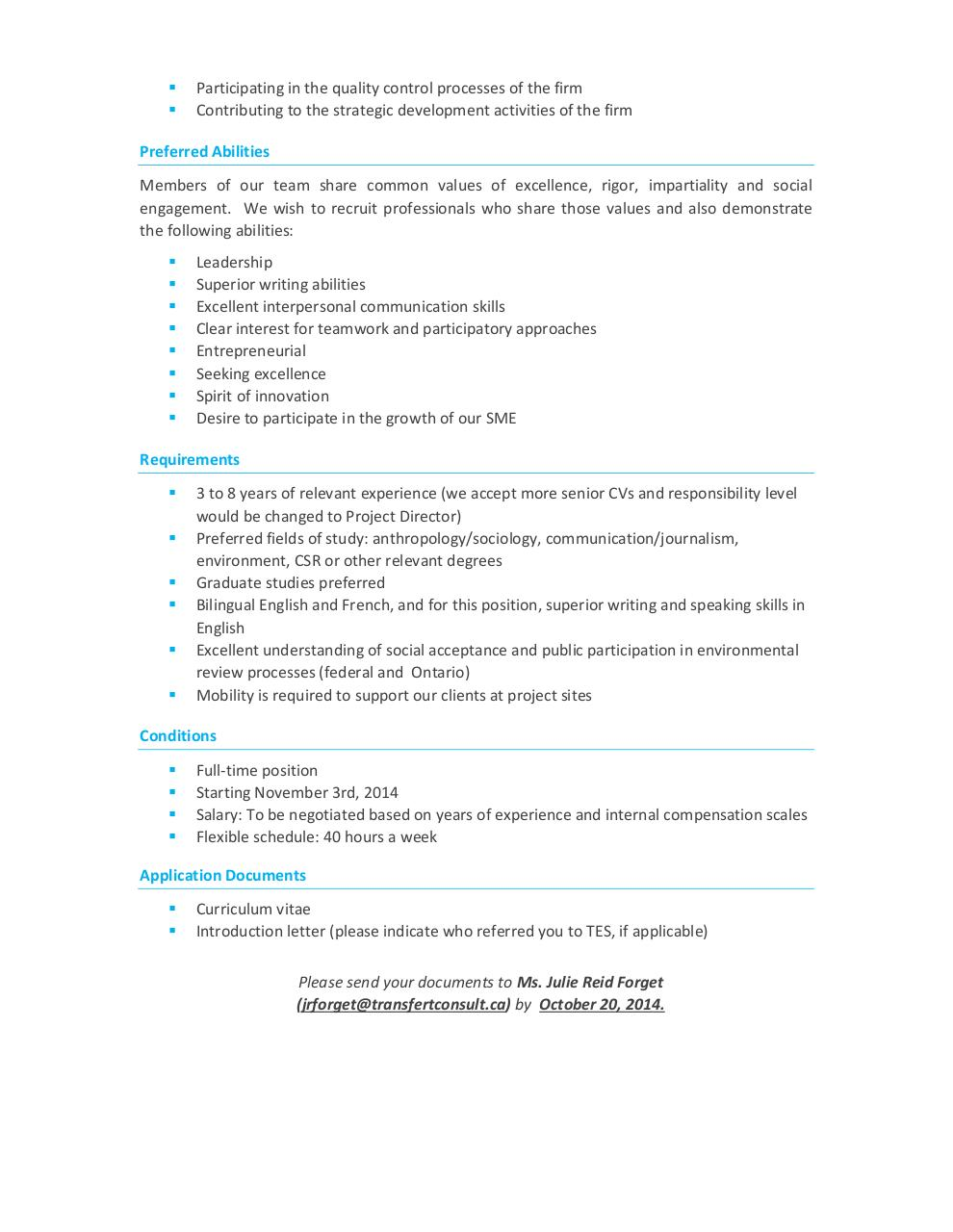 Job Offer TES - Project Manager To.pdf - page 2/2