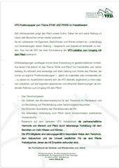 vfd positionspapier ethik