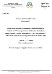 Fichier PDF note d affectation ffi