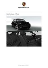 offre octobre 2014 macan diesel s