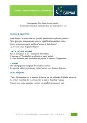 revue presse isupnat octobre 2014