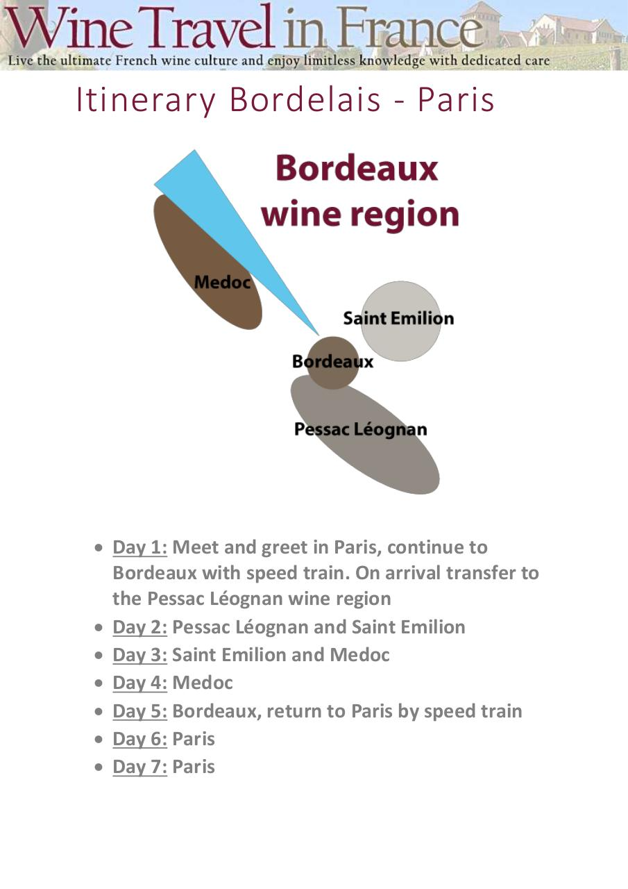 WineTravelinFrance itinerary sp.pdf - page 1/8