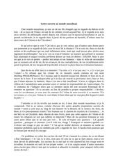 lettre ouverte au monde musulman 29 septembre