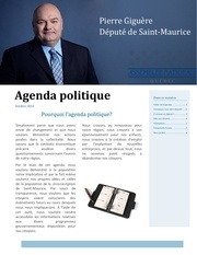 agenda politique pierre giguere1
