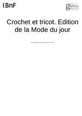 crochet et tricot 1928 04