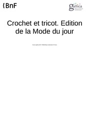 Fichier PDF crochet et tricot 1934 10