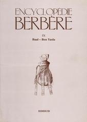 encyclopedie berbere volume 9