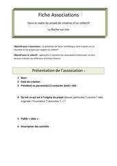 Fichier PDF fiche asso
