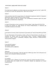 statuts de l association 1