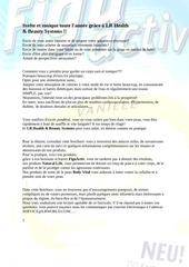 brochure pdf minceur