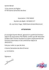 Fichier PDF attestation alexandre et thomas