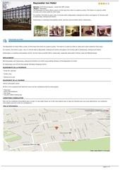 Fichier PDF bayswater inn hotel
