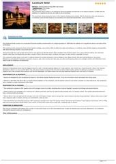 Fichier PDF landmark hotel