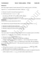 serie n 3 nombres complexes