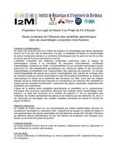 sujet pfe i2m bordeaux 2015