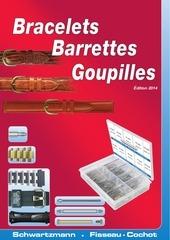 bracelets barrettes goupilles