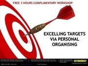 excelling target via personal organising