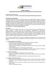 offre emploi cameleon 14 10 2014