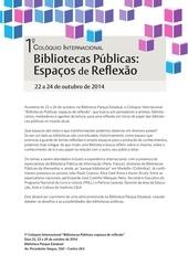 release coloquio bibliotecas publicas