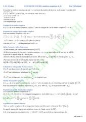 resume complexe 4e a 4