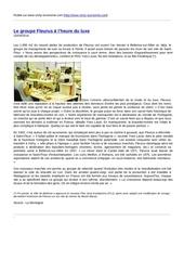 www vichy economie com le groupe fleurus l heure du luxe