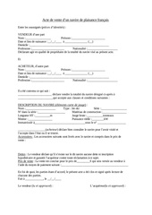 Fichier PDF acte de vente