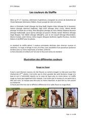 genetique des couleurs et mariages dernie re version